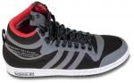 Das schwarze Modell des Top 10 all weather Sneakers