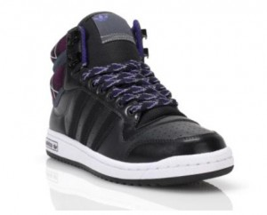 adidas top 10 hi in violett & schwarz (Foot Locker exklusiv)