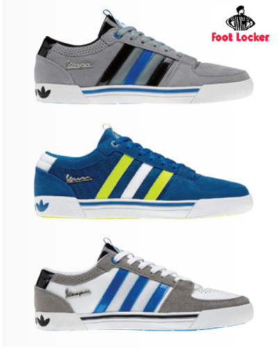 Vespa Sneaker von adidas x Foot Locker