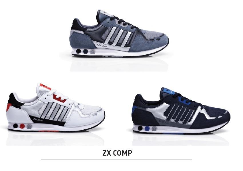 ... adidas zx comp grau