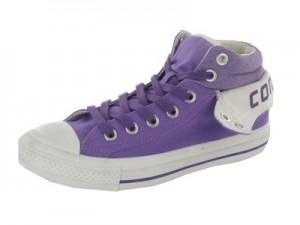 Der Converse Padded Collar II in lilac und weiss