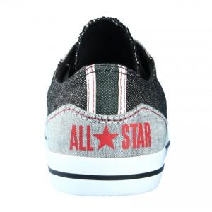 ferse all star sneaker schwarz rot grau