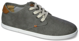 Hub Chucker Canvas-greyish