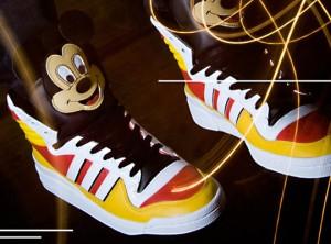 Der Mickey Hi von adidas und Jeremy Scott