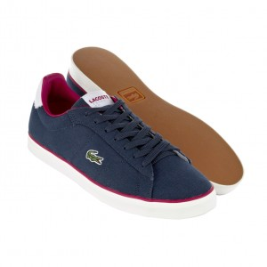 Lacoste Broadwick Canvas in blau (Tribute Kollektion)