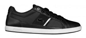 Lacoste Europa Sneaker in schwarz