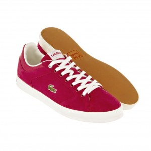 Lacoste Newsome in rot (Tribute Kollektion)