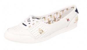 SM Lace Low in weiß und Gold von Le Coq Sportif