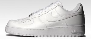 Der Grundstock: Der Nike Air Force 1 in weiß