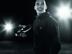 Wesley Sneijder und der neue Air Max 90