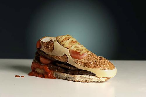 Der Nike Air Max Burger von unbekannt