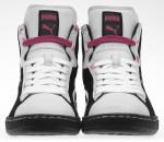 Die Frontansicht des Sadia Rafique Sneakers