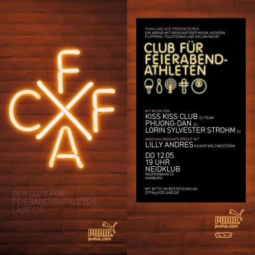 Club für Feierabendathleten - Einladung für das Event in Hamburg