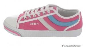 Der Puma Excurse in pink, weiß und blau