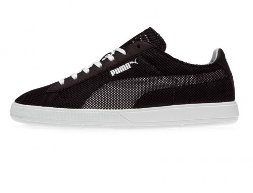 puma suede schwarz bolt version