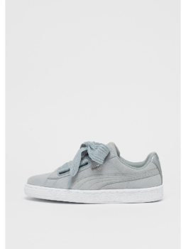 Puma Suede Heart Safari grey