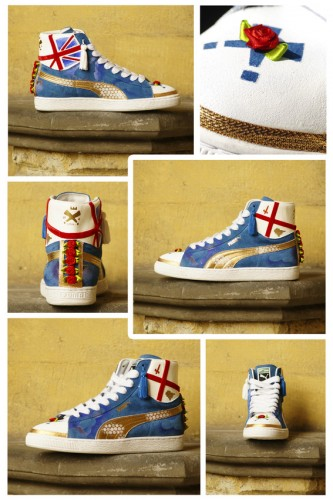 Puma Suede Mid x Dupelex (Royal Wedding)