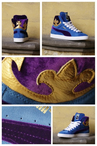 Puma Suede x Ghettrocentricity (Royal Wedding) Sneaker