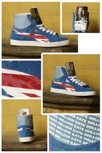 Puma Suede Mid x Marco Monteiro Hasse (Royal Wedding)