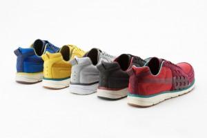 Die fünf Farbvarianten des Puma Faas Elemental Packs
