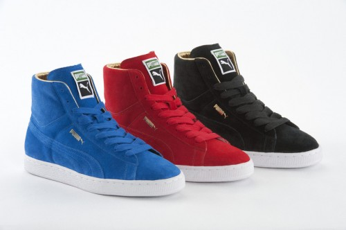 Puma Suede Sneaker The List Gold Pack