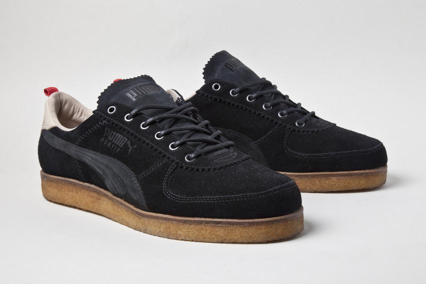 Der schwarze Bunyip Turnschuh zu Ehren des Sneaker Freaker Magazins