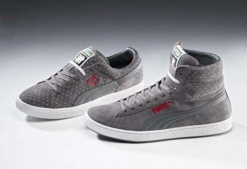 Puma Undefeated Microdot Sneaker grau