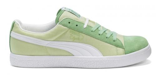 Puma Clyde grün