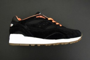 Der Saucony x Solebox Shadow 90 im Profil