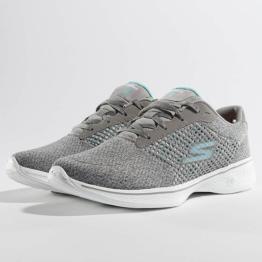 Skechers Frauen Sneaker Go Walk in grau