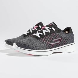 Skechers Frauen Sneaker Go Walk in schwarz
