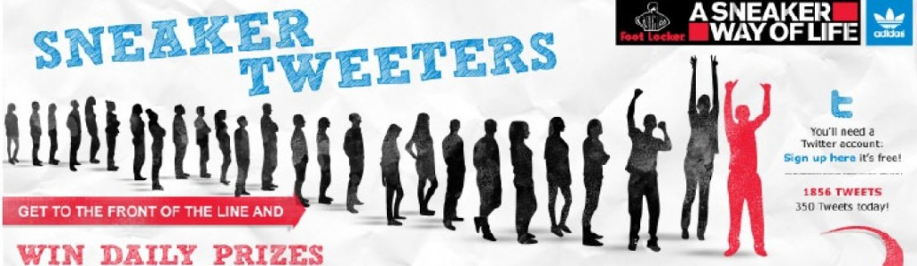 adidas x foot Locker Sneaker Tweeters Gewinnspiel