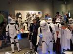 Die Invasion ist geglückt - Storm Trooper im Adidas Store