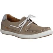 Tamaris Damenschuhe 23615-258 - Damenschuhe Sneaker, Beige, Leder, Absatzh ouml;he: