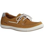 Tamaris Damenschuhe 23615-318 - Damenschuhe Sneaker, Braun, Leder, Absatzh ouml;he: