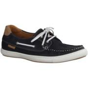 Tamaris Damenschuhe 23615-805 - Damenschuhe Sneaker, Blau, Leder, Absatzh ouml;he: