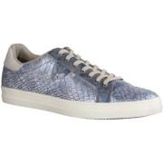 Tamaris Sneaker 23606-804 - Damenschuhe Sneaker, Blau, Absatzh ouml;he: Flach n