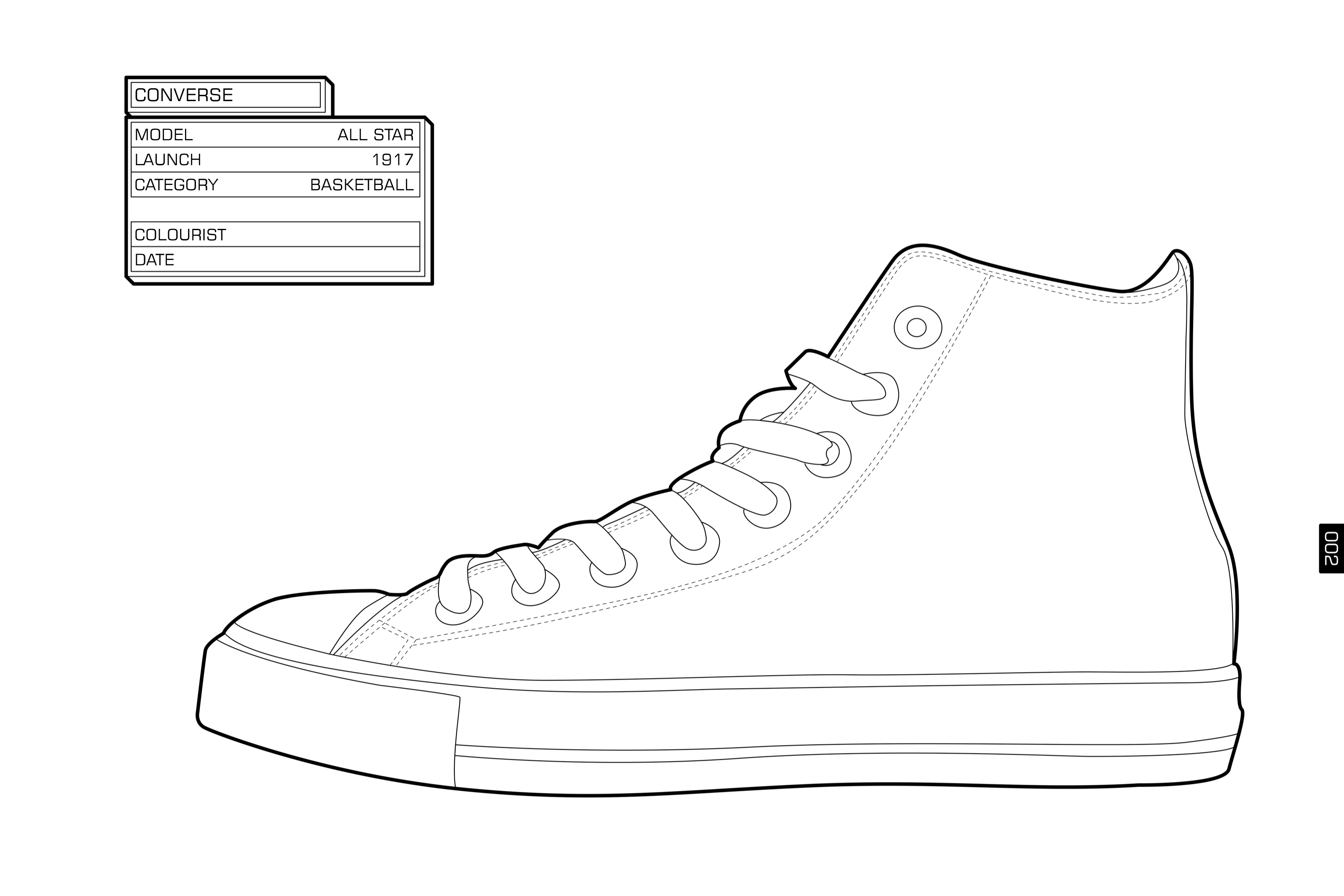 Gallery images and information: Converse Shoes Clip Art