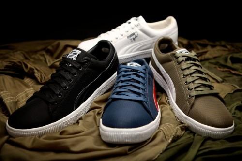 Nylon Ripstop Clyde Sneaker